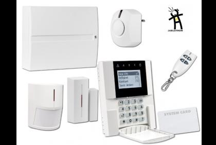 -Centrale , clavier , détecteur IR , détecteur d'ouverture , télécomande, carte RFID